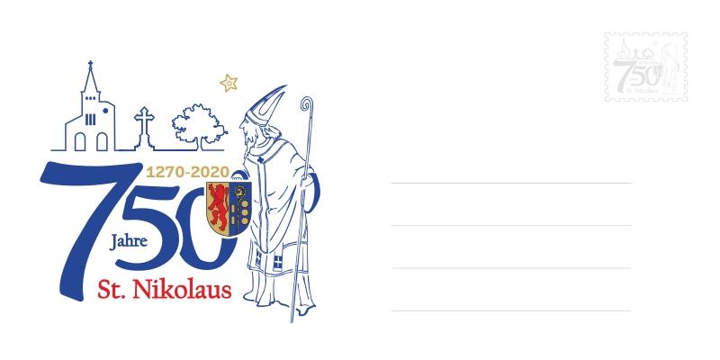 Nikolaus-Kuvert - 750 Jahre St. Nikolaus