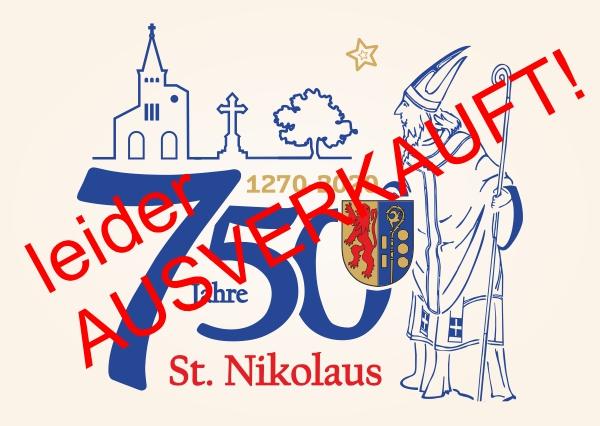 Nikolaus-Postkarte - 750 Jahre St. Nikolaus