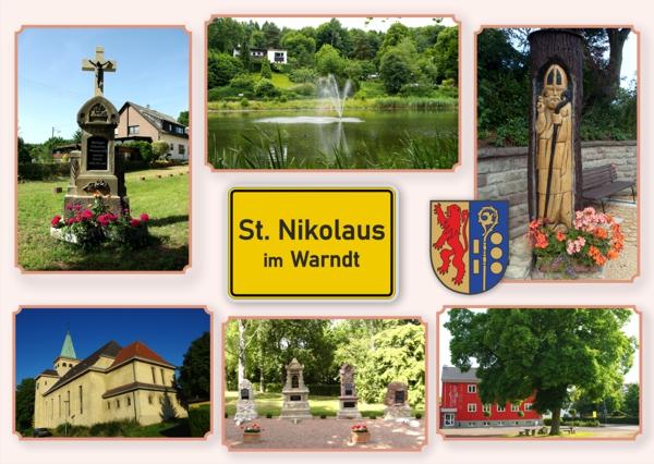 Postkarte St. Nikolaus 2020
