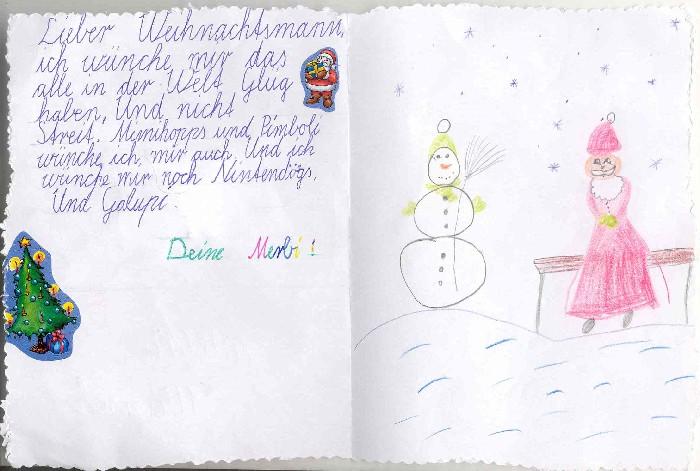 Eine Auswahl Von Kinderbriefen An Den Nikolaus Aus St Nikolaus